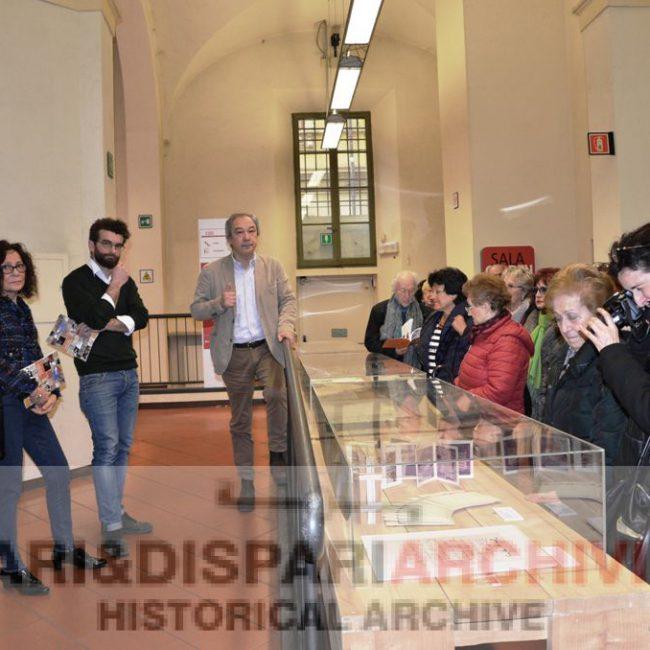 Inaugurazione mostra 4 marzo 2017 Archivio storico Pari&Dispari